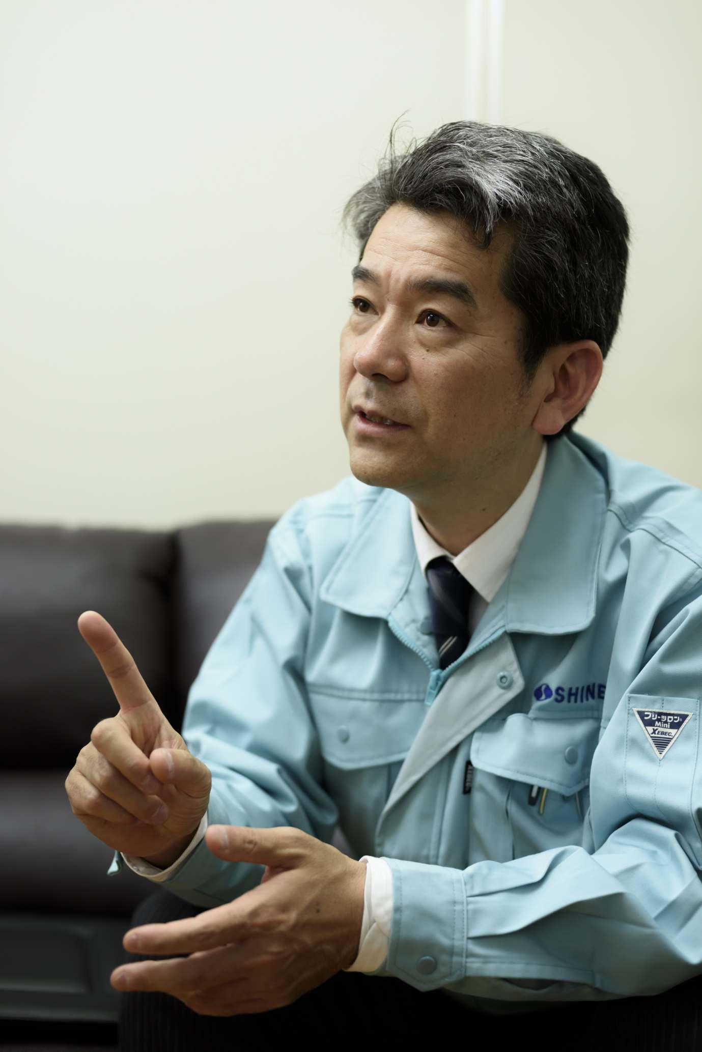 代表取締役社長 橋本 義徳
